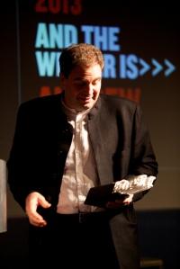 November - Andrew receives his award